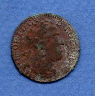 Lorraine  -  Liard 1727  --  état  TB - 476 – 1789  Periodo Feudale