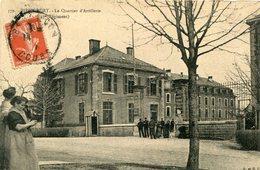 HERICOURT - Le Quartier D'ARtillerie 47 ème Régiment Les Femmes Regardent Les Soldats Ecrit à Soldat 21 è Fort Plesnoy - Francia