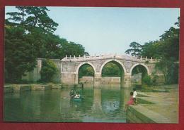 CN.- China. Peking. Summer Palace. Three-A Rch Bridge Spanning The Back Lake. - China