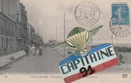 CPA LUC SUR MER CALVADOS LA RUE DU GRAND ORIENT - Luc Sur Mer
