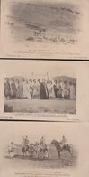 Algérie:Lot 3 CPA:Evènements Du Figuig 1903:N° 6.9.20 - Otros