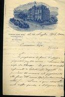112 BERN 1906 PENSION EDEN  , LETTERA - Svizzera