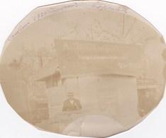 BEZIERS PHOTO JOSEPH ARNAL EXPOSITION DE BEZIERS 1920 CHALET AGLOMERES FABRIQUE DE CAIRONS ORNEMENTES CONSTRUCTION - Beziers