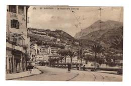 06 ALPES MARITIMES - MENTON Le Boulevard Garavan (voir Descriptif) - Menton