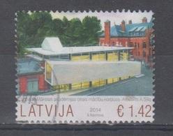 Latvia 2014 Mi 921 Used Academy Of Arts - Lettonia