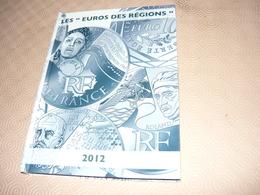 27 Euros Des Régions 2012  Argent  En Classeur  Avec Les Régions D'outre Mer ;; Expédition  12 Euros En Plus Du Prix - France