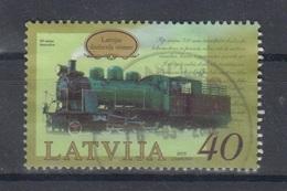 Latvia 2010  Mi 791 Used Railway,locomotive - Latvia