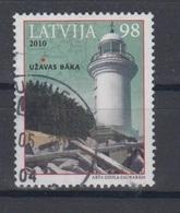 Latvia 2010  Mi 794 Used Lighthouse - Latvia