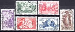 Dahomey  - 1937 -  Exposition Inter De Paris - N° 103 à 108 - Oblit - Used - Dahomey (1899-1944)