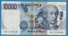 ITALIA 10.000 Lire   Alessandro Volta03.09.1984Serial# AK….N P# 112d - [ 2] 1946-… : République