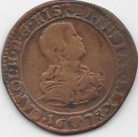 Espagne - Charles II - 1665-1700 - Cuivre - Monnaies Provinciales
