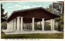 ETATS UNIS KANSAS CITY THE BAND STAND SWOPE PARK - Kansas City – Missouri