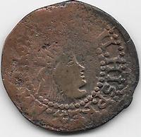 Espagne - Philippe II - Cuivre - Provincial Currencies