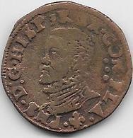 Espagne - Philippe II - 1527-1598 - Cuivre - Monnaies Provinciales