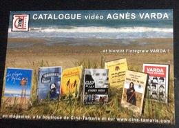 Carte Postale (12x18 Cm) : Catalogue Vidéo Agnès Varda (Ciné Tamaris) - Merchandising