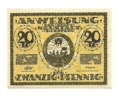 1921 - Germania - Neustadt Notgeld N73 - [11] Emissioni Locali