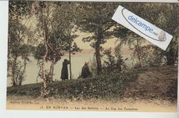CP Toilée Couleur  Du Lac Des SETTONS: Au Cap Des Tempétes. En Morvan. édit Hotel Du Lac. - Montsauche Les Settons