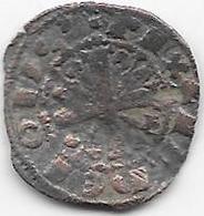 Espagne - Alfonso IX - Roi De Léon Et Galicie - 1188-1230 - Dinéro - Billon - Monnaies Provinciales