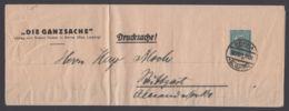"""PS 16 B 2/01 """"Die Ganzsache"""", Sauberer Bedarf """"Borna"""", 22.12.21 - Deutschland"""