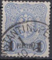 3 C, Gut Gezähnt, Klar Gestempelt - Deutsche Post In Der Türkei