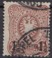 4 A, Sauberes Bedarfsstück - Deutsche Post In Der Türkei