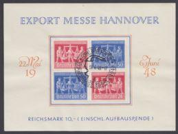 """VZd 2 """"Hannover-Messe"""", Seltene Variante Des ZD Auf Pass. Karte Mit Sst. - Gemeinschaftsausgaben"""