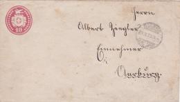 Entier Postal Oblitéré BIENNE Le 24.X.1873, à Destination D'AARBURG - Très Propre - Stamped Stationery