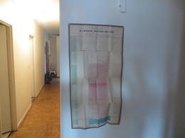 TABLEAU DE L'HISTOIRE POLITIQUE DES JUIFS,judaica ,mesure 45 Cm  X 85 Centimetres , Tres Rare Document - Historical Documents