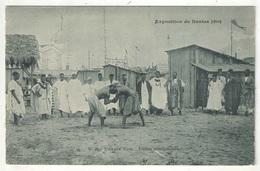 44 - Exposition De NANTES 1904 - Village Noir - Luttes Sénégalaises - Nozais 26 - Nantes