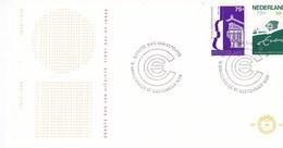 Nederland - FDC - Standbeeld Van Erasmus Te Rotterdam/100 Jaar Concertgebouworkest 1888-1988 - NVPH E258 - Musique