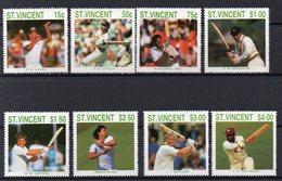 SAINT VINCENT  Timbres Neufs  **de 1988   ( Ref 5748 )  Sport  Cricket - Voir Descriptif - St.Vincent (1979-...)