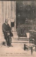 47 MUSEE D'AGEN LE PAUVRE PAR F. SABATTE CIRCULEE SOUS ENVELOPPE 1924 - Peintures & Tableaux