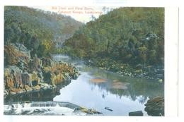 Vintage Tasmania, Mill Dam & First Basin Cataract Gorge, Launceston Colour Pc Unused. - Lauceston