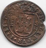 Espagne - Philippe IV - Cuivre - Provincial Currencies