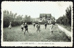 """KLEMSKERKE - Pension """"Le Chat Botté"""" - Une Des Plaines De Jeu - Non Circulé - Not Circulated - Nicht Gelaufen. - De Haan"""