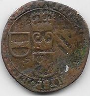 Espagne - Philippe IV - 1653 -  Cuivre - Monnaies Provinciales