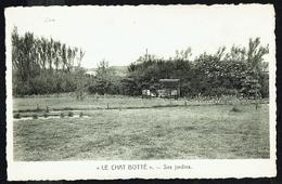 "KLEMSKERKE - Pension ""Le Chat Botté"" - Ses Jardins - Non Circulé - Not Circulated - Nicht Gelaufen. - De Haan"