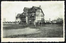 "KLEMSKERKE - Pension ""Le Chat Botté"" - Façade Principale - Non Circulé - Not Circulated - Nicht Gelaufen. - De Haan"