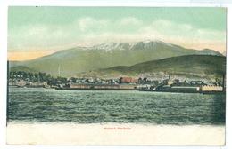 Vintage Tasmania, Hobart Harbour Colour Pc Unused. J.Walch Series G - Hobart