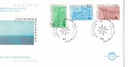 Nederland - FDC - Zomerzegels - Varende Monumenten - Boeier/botter/klipper - NVPH E264 - Monumenten