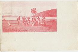 Groupe Canaque Environs De Noumea Photo Talbot 1901 Timbrée Vers Alice Kuss Neuilly Sur Seine - Nouvelle-Calédonie