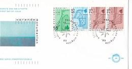 Nederland - FDC - Zomerzegels - Varende Monumenten - Boeier/botter/klipper - NVPH E264a - Monumenten