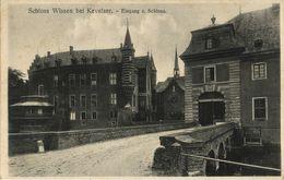 WISSEN Bei Kevelaer, Eingang Z. Schloss (1911) AK - Kevelaer