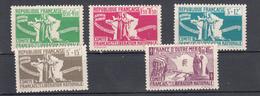 Francia - Yv. 60/64 ** - Guerre