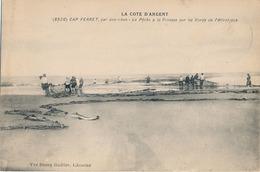 CAP FERRET - N° 8926 - LA PECHE A LA PINASSE SUR LES BORDS DE L'ATLANTIQUE - Francia