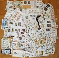 Tschechien Posten Briefausschnitte Korrespondenzware > 6500 Kc.Nominale, Meist Sondermarken - Lots & Serien