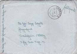 German Feldpost WW2: To 8./Flieger Ausb. Regiment 43 At Fliegerhorst Crailheim P/m Dachau 2 27.2.1942 - Militaria
