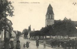 C 0954 - Rians (18) La Grande Rue - France