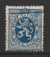 MiNr. 261  Belgien / 1929, 25. Jan. Freimarken: Wappenschild. Bdr. (2020, Unterteilt In 4 Gruppen Zu 1010); Gez. 13:14. - 1929-1937 Heraldischer Löwe