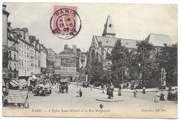 Paris - Eglise Saint-Médard Et La Rue Mouffetard, 1905 - France